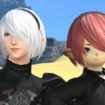 【FF14】2Bの髪型にしてる人少なくない?(えふまと!)