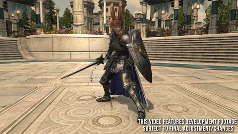 【FF14】6.0ナイトのジョブ専用装備の武器&盾は「ライトブリンガー」「英雄の盾」!?他6.0で腰装備が削除、アーマリーチェストの武器&指輪枠が50に増加!