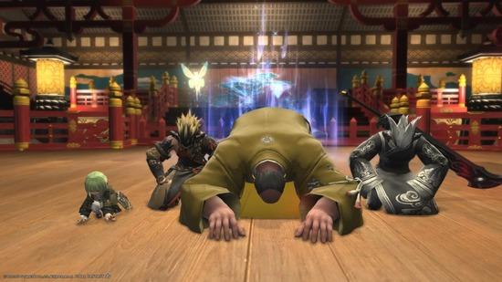 【FF14】「ごめんなさい」に対して「ドマキン」「ドマ城」と返してくるチャットを煽りだと思ってる奴wwwww