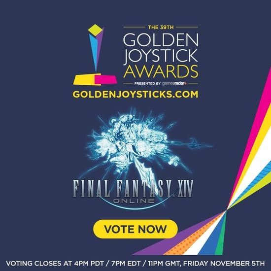 「ゴールデンジョイスティックアワード2021」に『FF14』がノミネート!各部門への投票受付も開始!