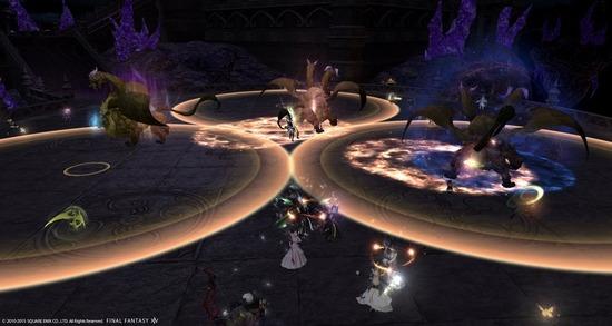 【FF14】闇の世界で開幕に出てくるキマイラ3体って各アラ毎に処理するべき?それともまとめるべき?